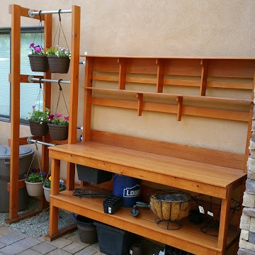 Featured: Potting Bench