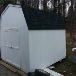 Gambrel-roof Shed (2)